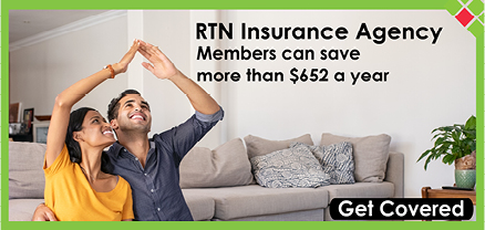 RTN Insurance Agency Members can save more than $652 a year.