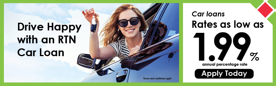 Car loans rates as low as 1.99% Annual Percentage Rate Apply Today